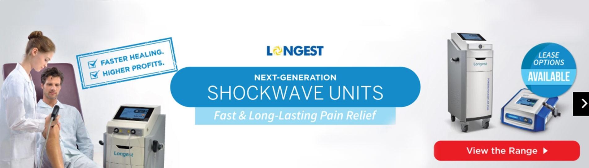 longest shockwave units
